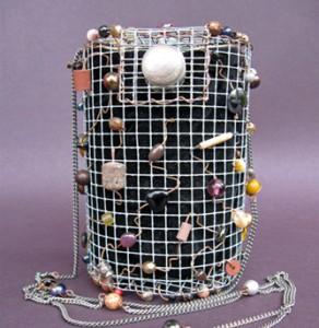 Cylinder Bright purse