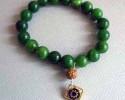 Green Quartz Rudraksha