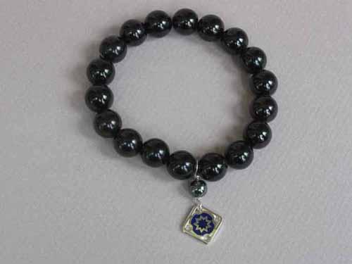 Blue Silver Star bracelet