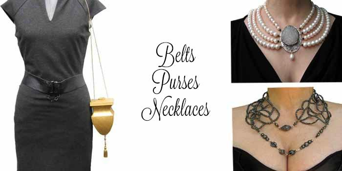 Belts Purses Necklaces