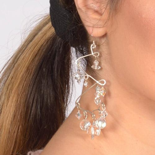 Chandelier earrings-2