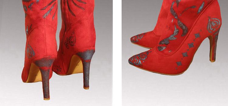 Red Boots sampler2.